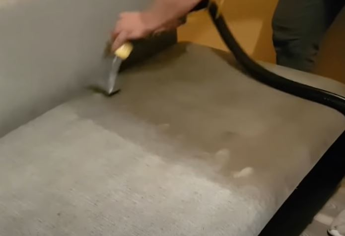 Химчистка дивана дома Тюмень